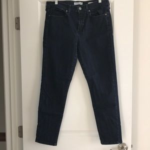 Banana Republic High Rise Skinny Ankle Jeans